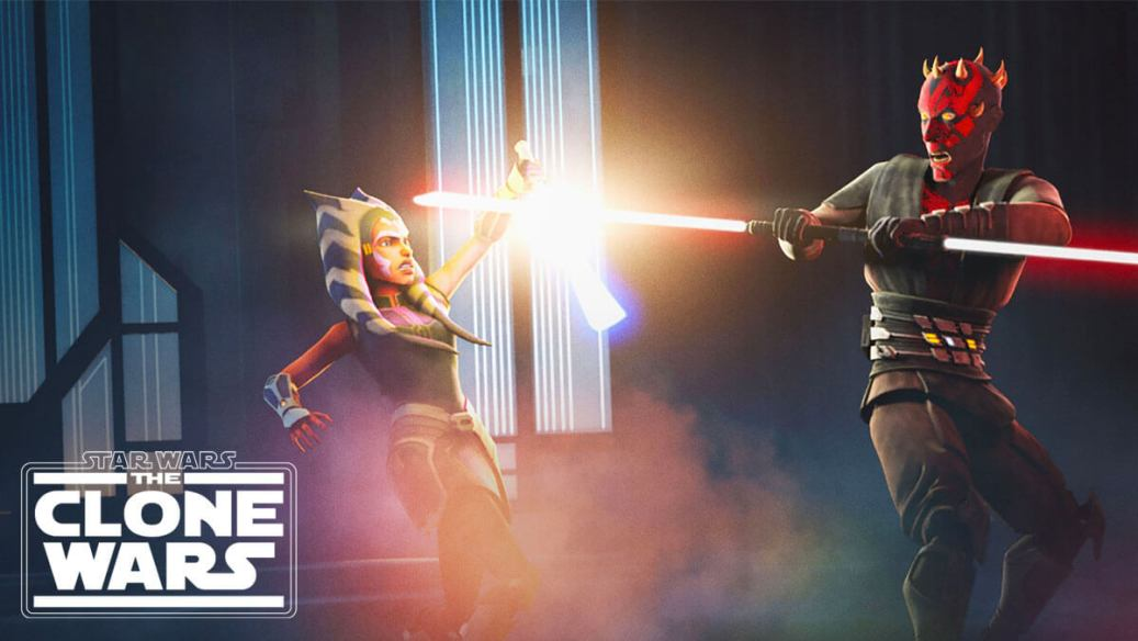 Ahsoka and Maul clash in Clone Wars Season 7 Episode 10