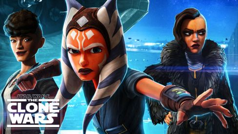 Ahsoka readies a punch as Trace and Rafa stand behind here