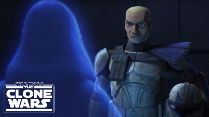 Rex receives Order 66 from Palpatine