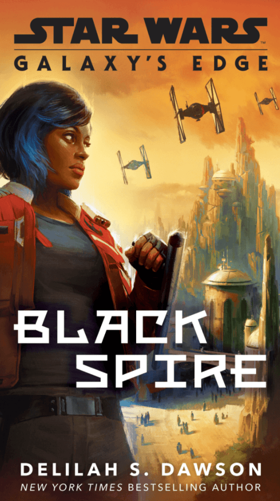 Galaxy's Edge Black Spire paperback cover art
