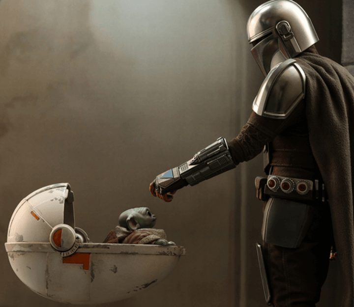 New Mandalorian comics coming soon featuring the Mandalorian and The Child.