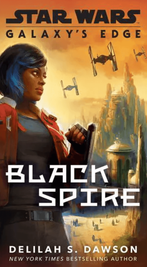 Return to a Shattered Planet is a short story in the paperback edition of Galaxy's Edge Black Spire by Delilah S Dawson.
