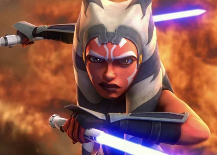Ahsoka Tano's lightsabers made our top 10 facts from the lightsaber collection list