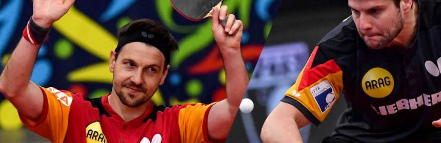 Dima Ovtcharov and Timo Boll are injured two weeks ahead of Tokyo