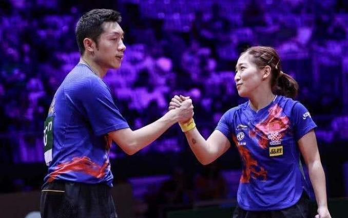 Liu Shiwen and Xu Xin will be playing in the opening mixed doubles event at the Tokyo Olympics.