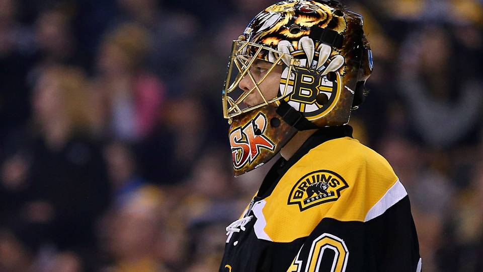 Tuukka Rask. Boston Bruins.