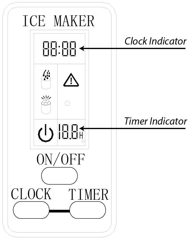 How do I adjust the clock and timer settings on my IP211SS
