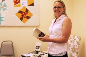 "Gretchen Friel, author, ""Coffee Break for Quilters: A Patchwork of Original Poems"""