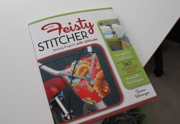 The Feisty Stitcher by Susan Wasinger