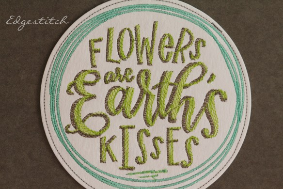 kraft-tex for the garden. learn to use Kraft-Tex for lots of fun projects. Edgestitch.