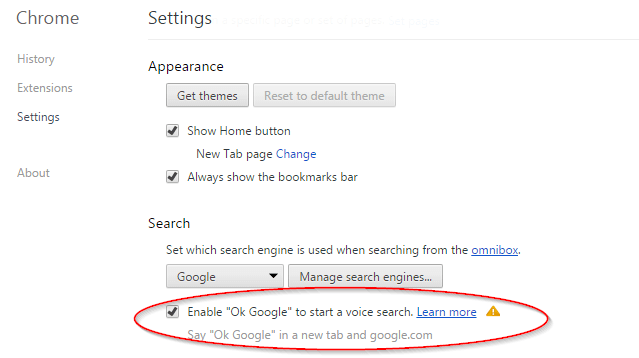 How To Enable Google Voice Search in Chrome Like Cortana in