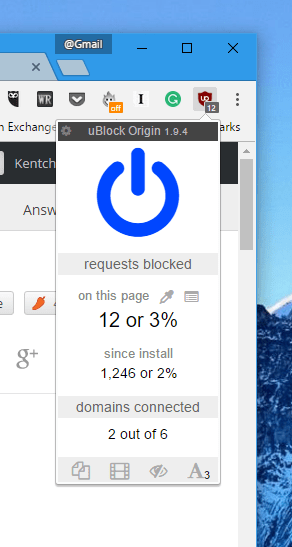uBlock Origin - A Free, Efficient, Lightweight Ad Blocker for Chrome