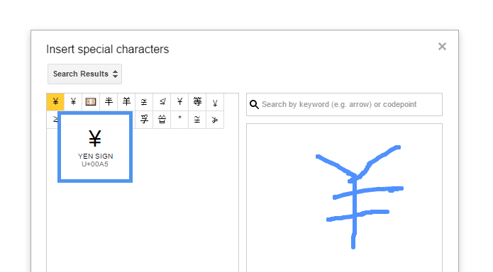 Google Docs Tip: Insert A Special Character By Drawing It