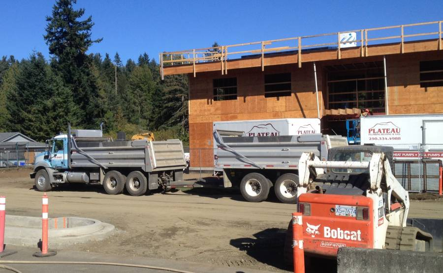 New Administration Building under way for K'ómoks First Nation