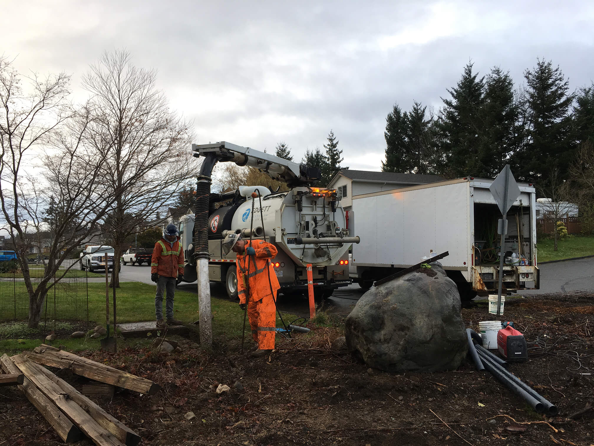 Installing a Hydro Service in Comox BC