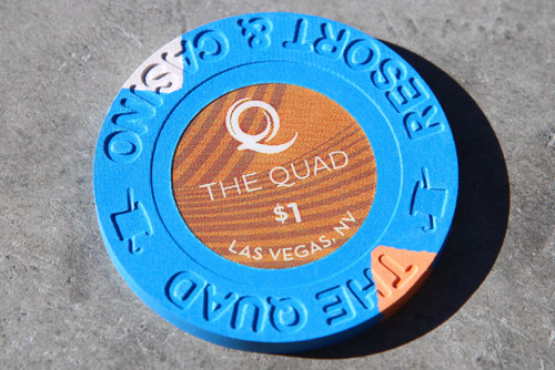 $1 Chip At The Quad Las Vegas