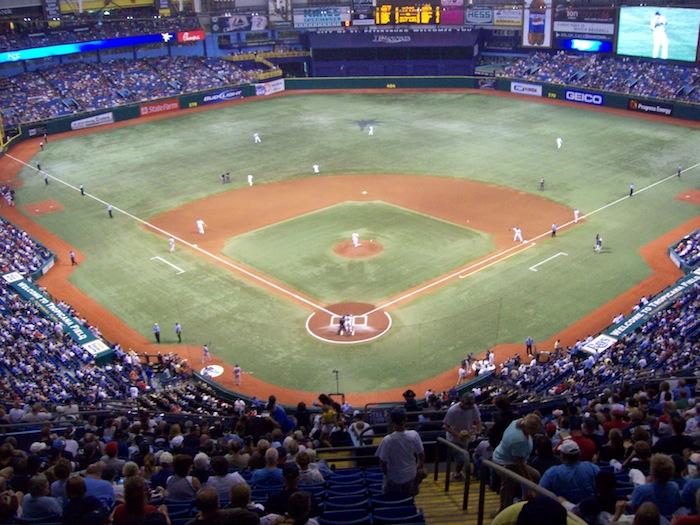 Tampa Bay Rays Tropicana Field