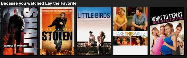 Lay The Favorite Netflix