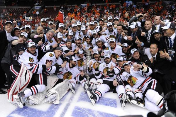 Chicago Blackhawks And The Stanley Cup