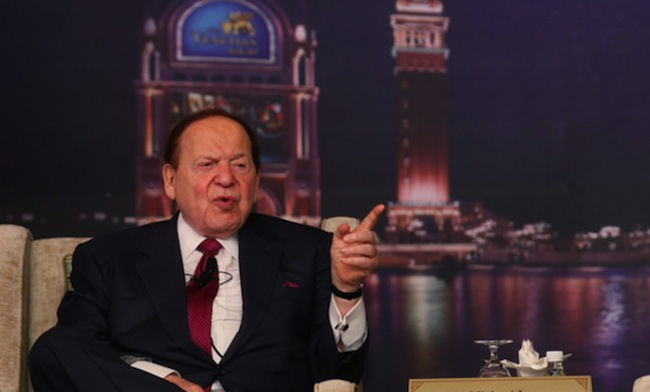 Sheldon Adelson Las Vegas Sands