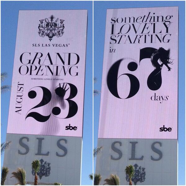 SLS Las Vegas Marquee