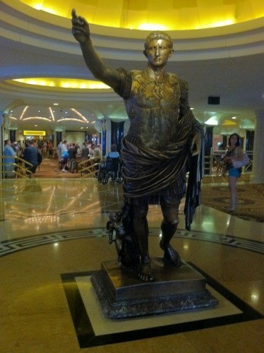 Caesar from Caesars Palace Las Vegas