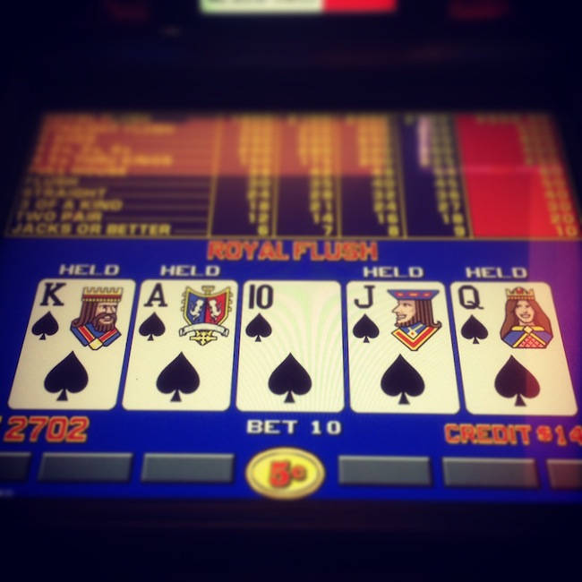 Royal Flush At Red Rock Resort Las Vegas