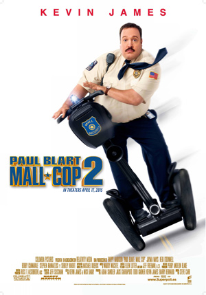 Paul Blart Mall Cop 2 Movie Poster