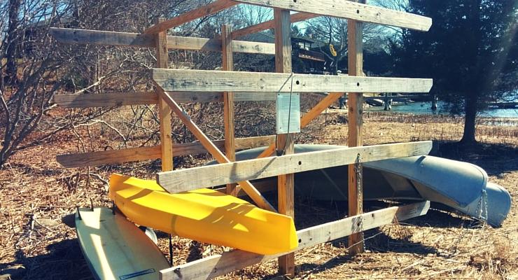 Edgewater Kayak & Canoe Rack