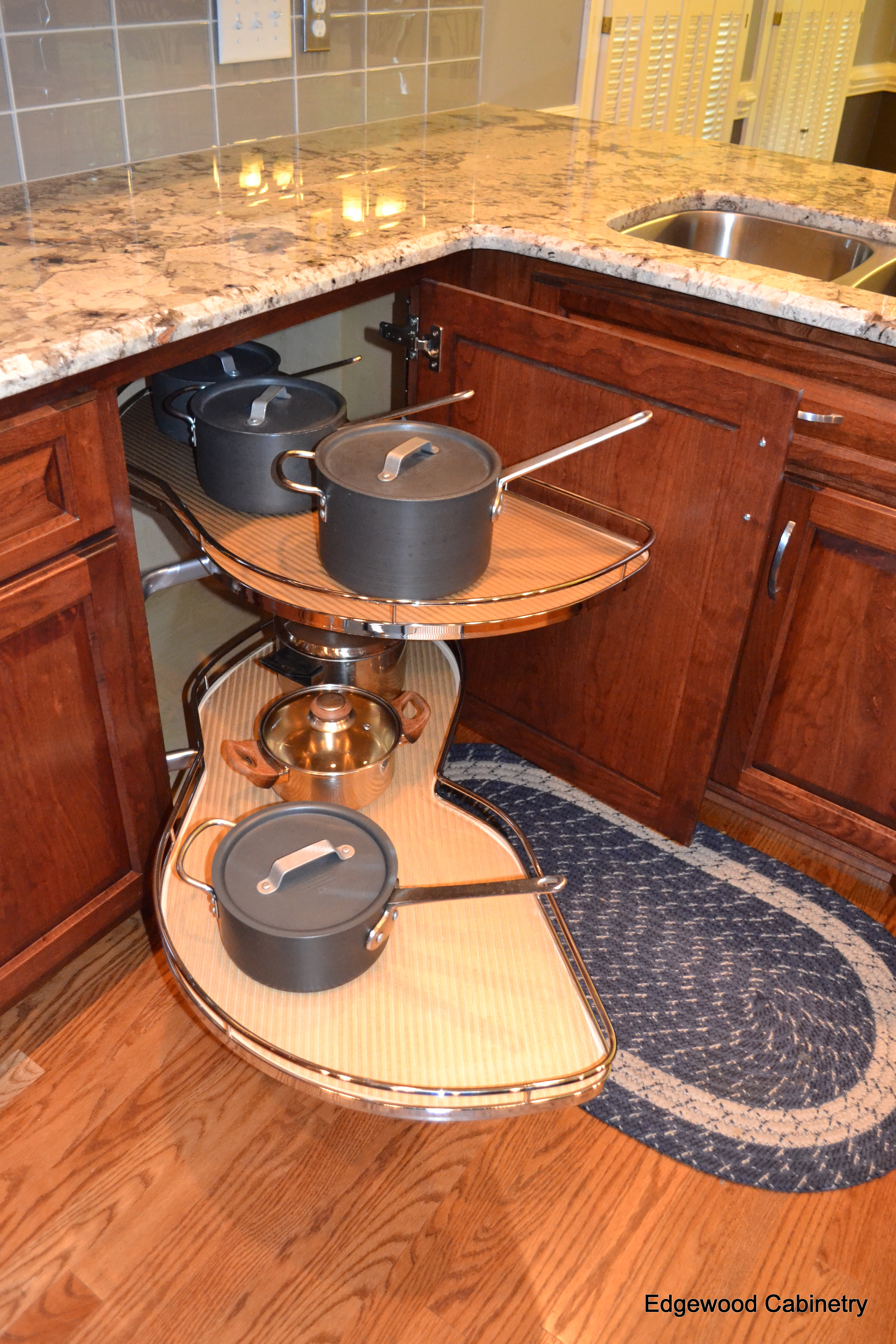 Corner Cabinet Solutions  Edgewood Cabinetry