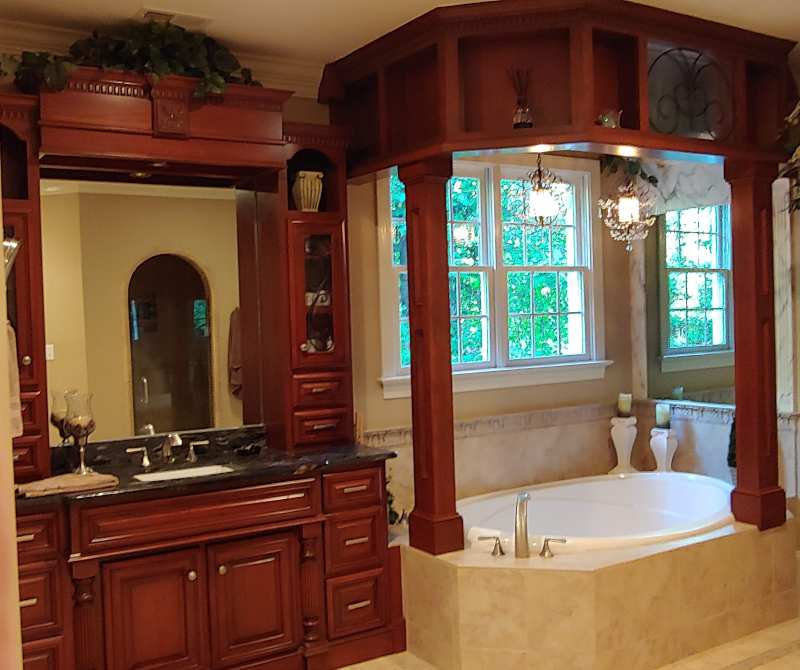 Bathroom Cabinets Counters Vanities Raleigh Triangle Edgewood Cabinetry