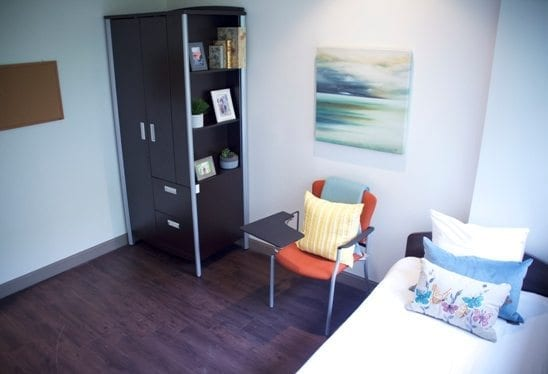 Client Room at Bellwood Health Services