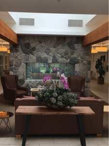 Whiterock EHN Canada Drug Rehab Surrey British Columbia Lounge & Fireplace