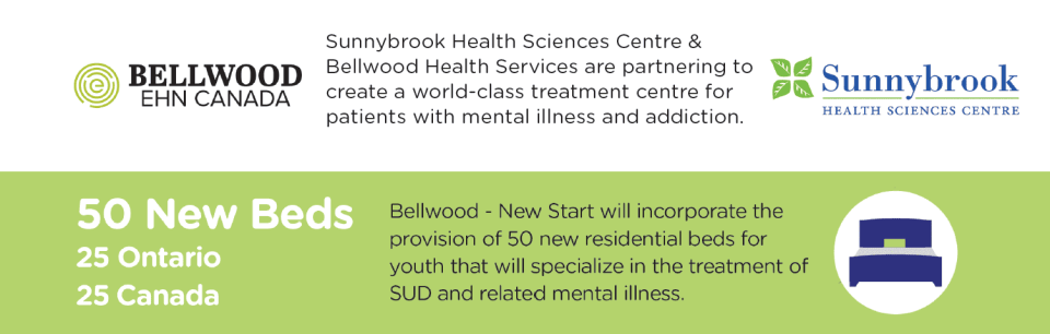 new start foundation and sunnybrook hospital