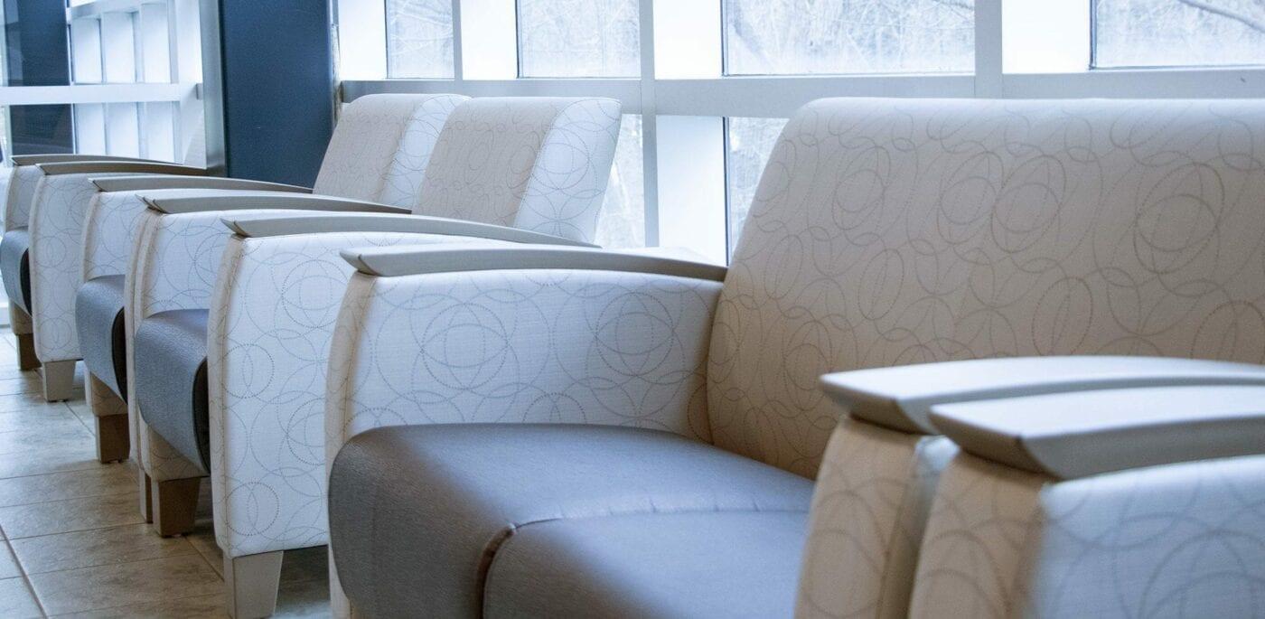Bellwood Health Services Toronto Addiction Facility Lobby Chairs