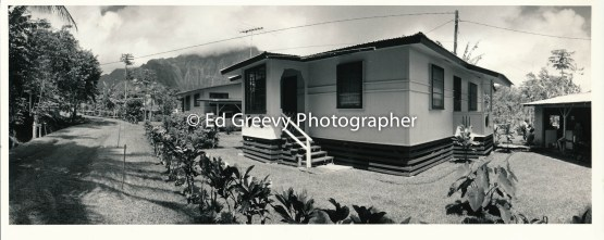 He`eia Meadowland resident Jo Patacsil's home and her mother's home. C1988