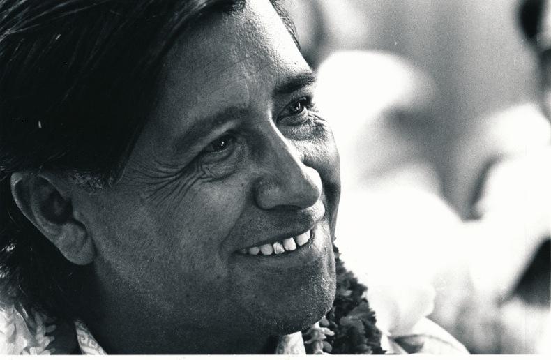 Caesar Chavez 1970's in Hawai'i