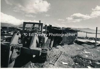 Sand Island bulldozing 1-27-80. 4097