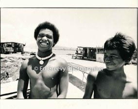 Mokauea Island children. 2914-6-14A 8-26-75