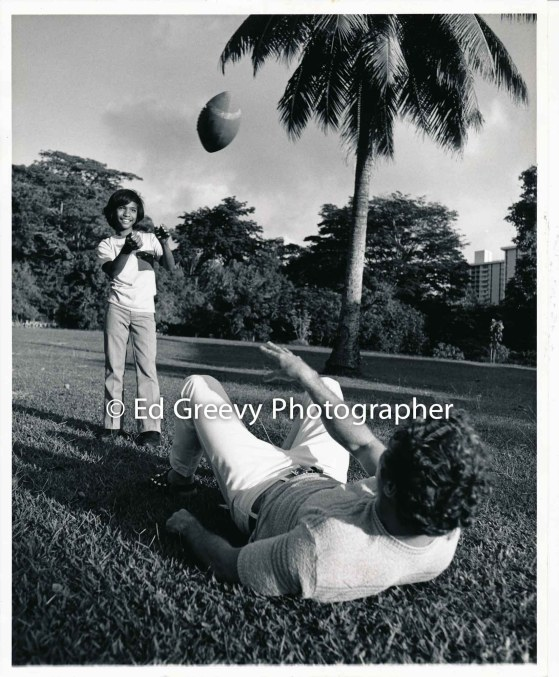 Big brothers football plaY. 2514 1971