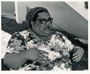 Welfare rights actvist, Lena Rivero. 2701 C1974
