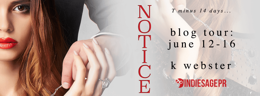 Notice by K. Webster