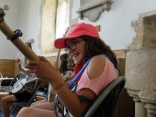 Teachin banjo at the Trad Academy Summer Camp