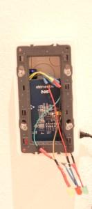 Vue de l'intérieur du badgeur NFC.