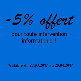 Promotion informatique avril 2017