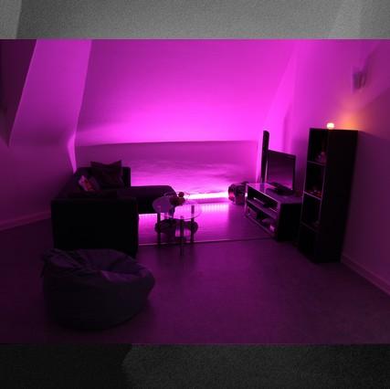 Lumière d'Ambiance LED colorée