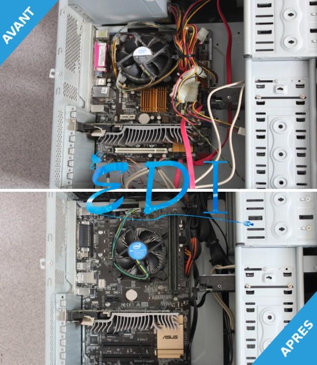 Avant / Après upgrade PC