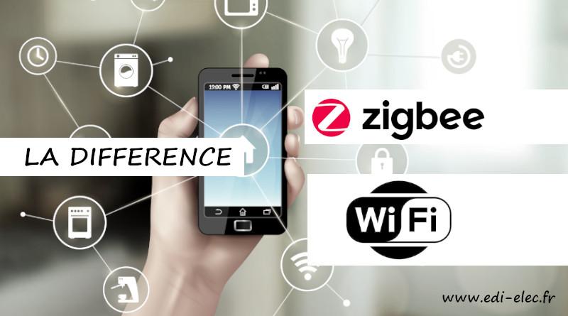 La différence entre ZigBee et WiFi
