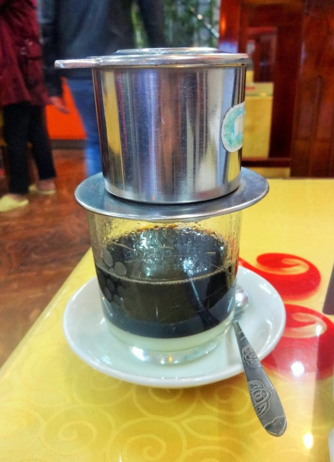 First cup of Vietnamese coffee in a few years