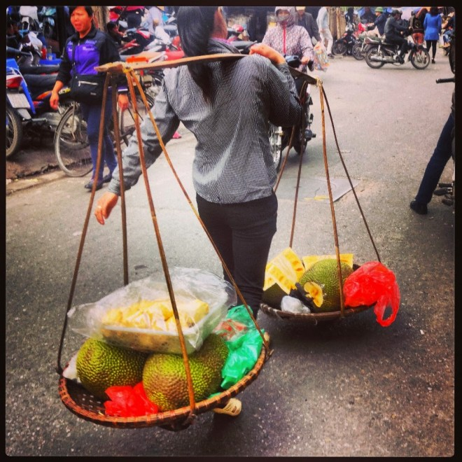 Portable Fruit Stall